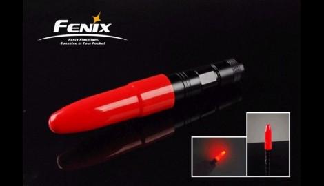 Difusor Rojo Para Para Linternas  Ld12, Ld22. Ref. AD101-R
