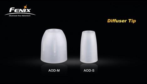 Disfusor Blanco Aod-S Para Linternas Fenix