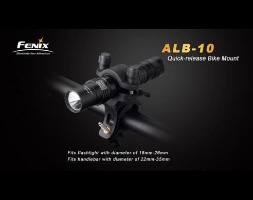 Soporte Para Linterna Manillar Bici Fenix Alb-10
