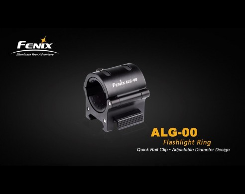 Anillo Ajustable Para Linternas Led Fenix Ref. ALG-00