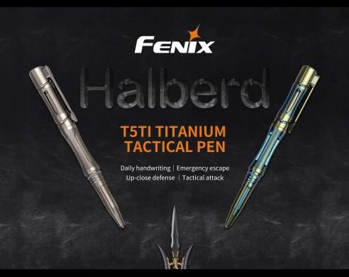 Bolígrafo Fénix, rompedor de vidrios y aplicación táctica
