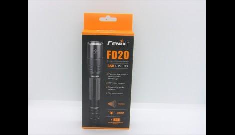Linterna FD20 nueva con cabezal Test