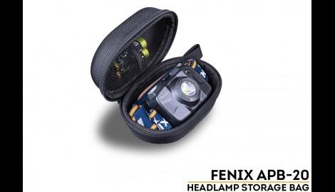 Funda Fenix para guardar frontales y pilas